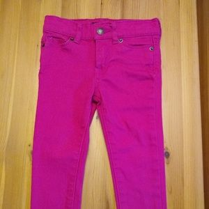Lucky brand girls jeans 2T